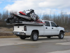 truck and sled deck